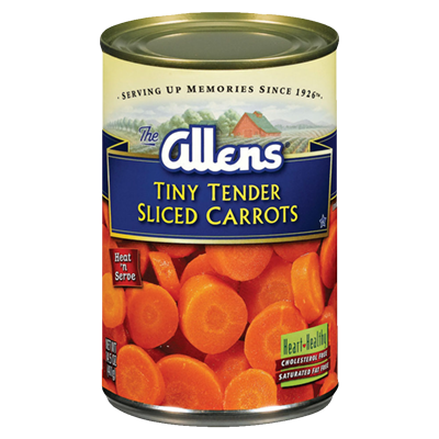 Tiny Tender Sliced Carrots