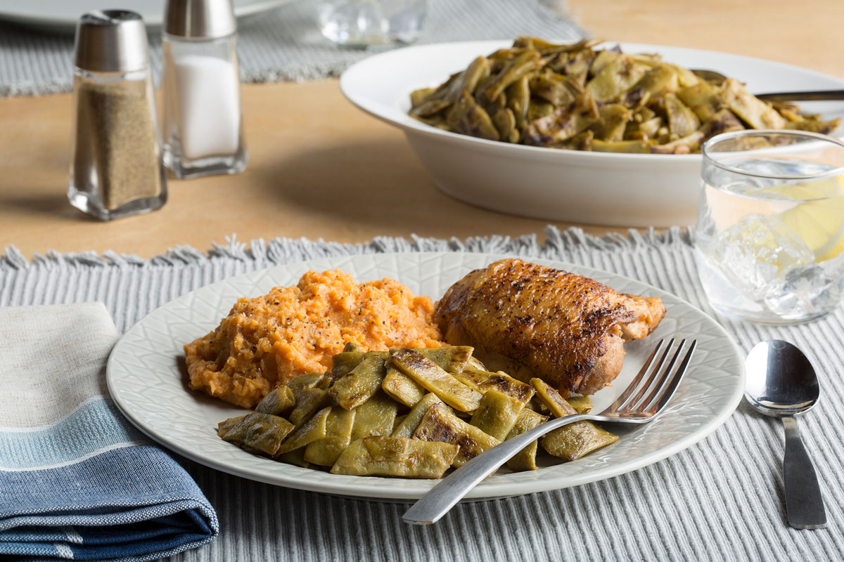 Simple Pan-Fried Green Beans