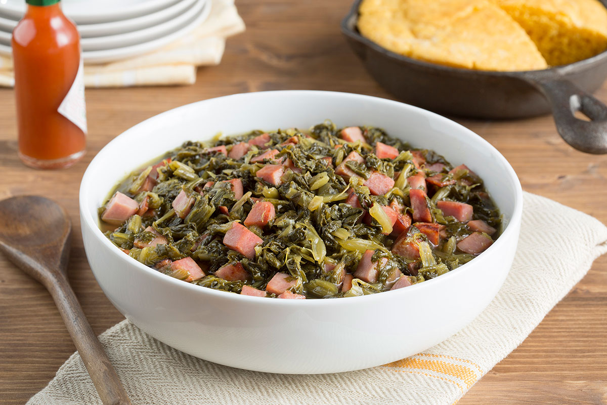 Quick-Cook Southern-Style Greens