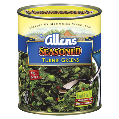 Seasoned Turnip Greens